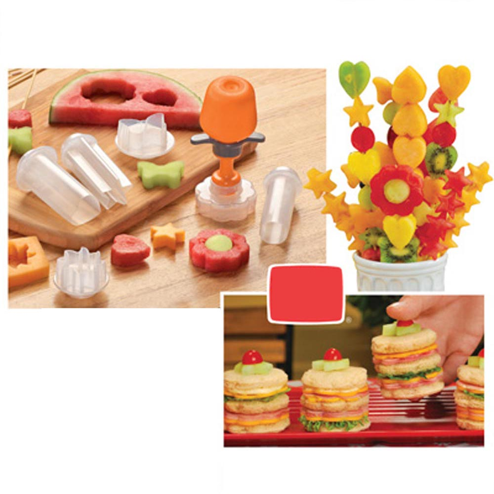 food shape maker for fruit cheese etc